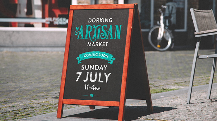 Creating an identity for Dorking's newest event